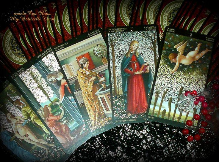 BOTTICELLI TAROT - oracle Éva Ilona / Evva Lena di Reirossi