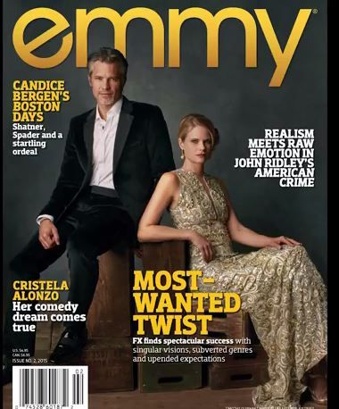 Timothy Olyphant & Joelle Carter Grace the Cover of Emmy Magazine - Timothy Olyphant