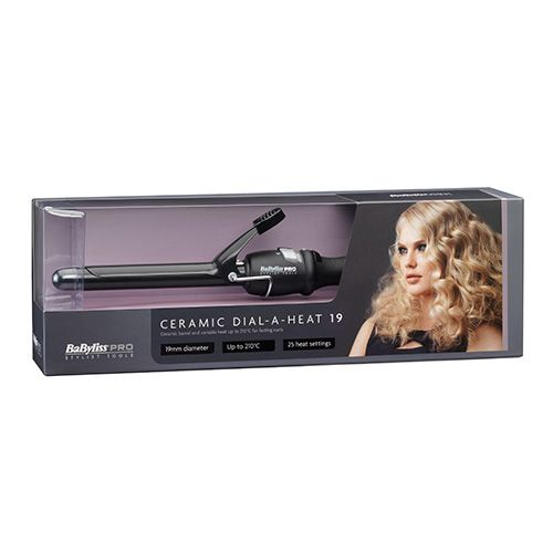 Babyliss Pro  Ceramic Dial A Heat Curling Tong