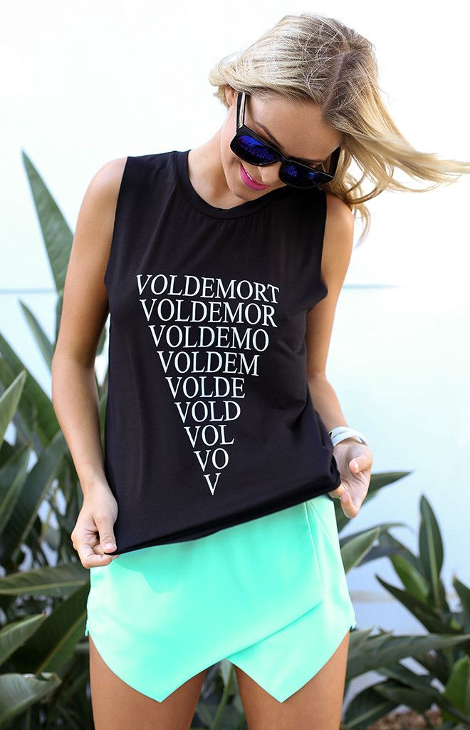 Voldemort Muscle Tee Beginning Boutique