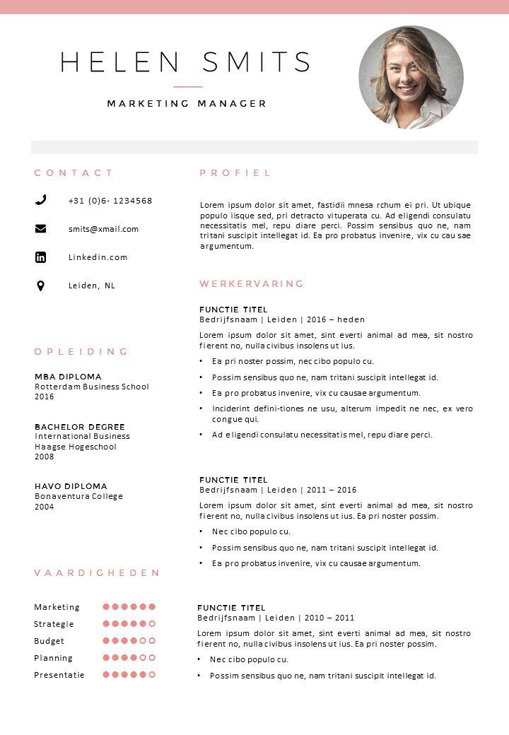 14 best Resume samples images on Pinterest | Resume, Resume design ...