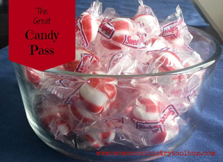 Icebreaker: The Great Candy Pass - Quick, easy, and fun icebreaker. Perfect for your next Women's Ministry fellowship or event!