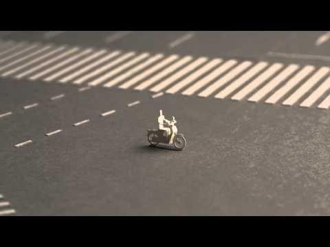 Clip stop motion tuyệt đỉnh về giao thông ở Shibuya, Tokyo làm từ mô hình giấy - Ionovietnam.com