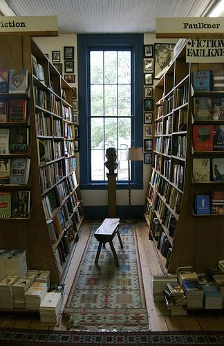 Inside Square Books bookshop in Oxford, England