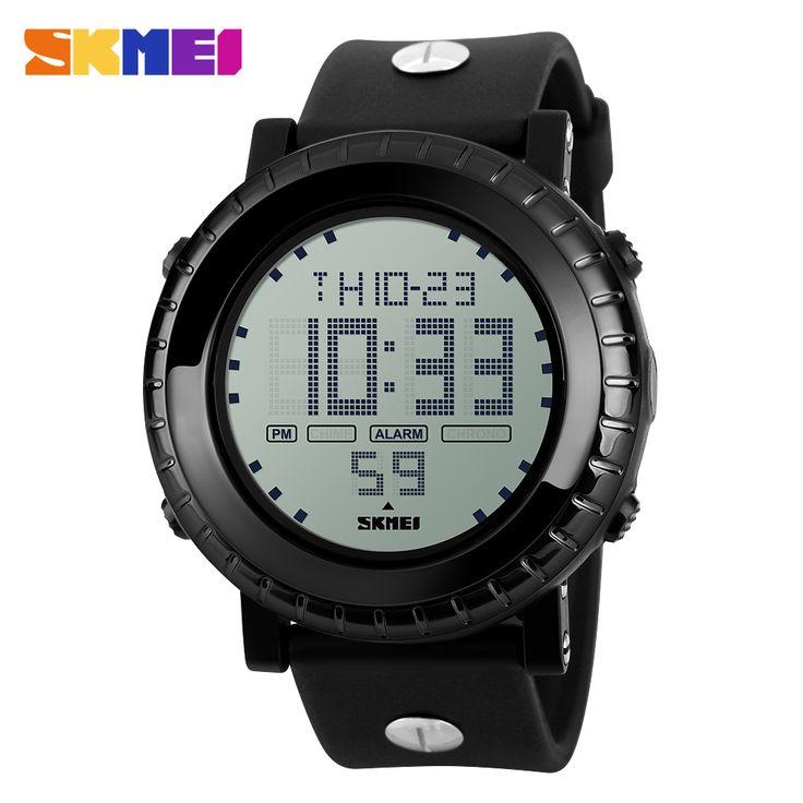 SKMEI Beyond New Fashion Men's Waterproof Watch Running Sport Digital LED Casual Alarm Wristwatches Relogio Masculino