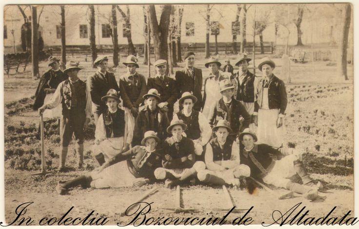 Calusarii din Bozovici. Inainte de 1947. #descoperabozovici