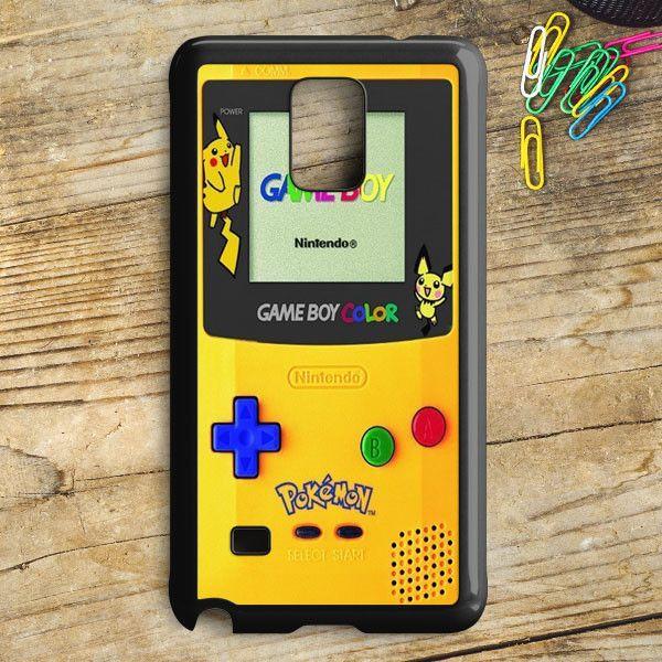 Yellow Gameboy Pokemon Samsung Galaxy Note 5 Case | armeyla.com