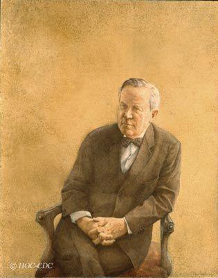 The Right Honourable Lester Pearson,  Prime Minister, 1963-1968 Artist: Hugh Mackenzie Date: 1968