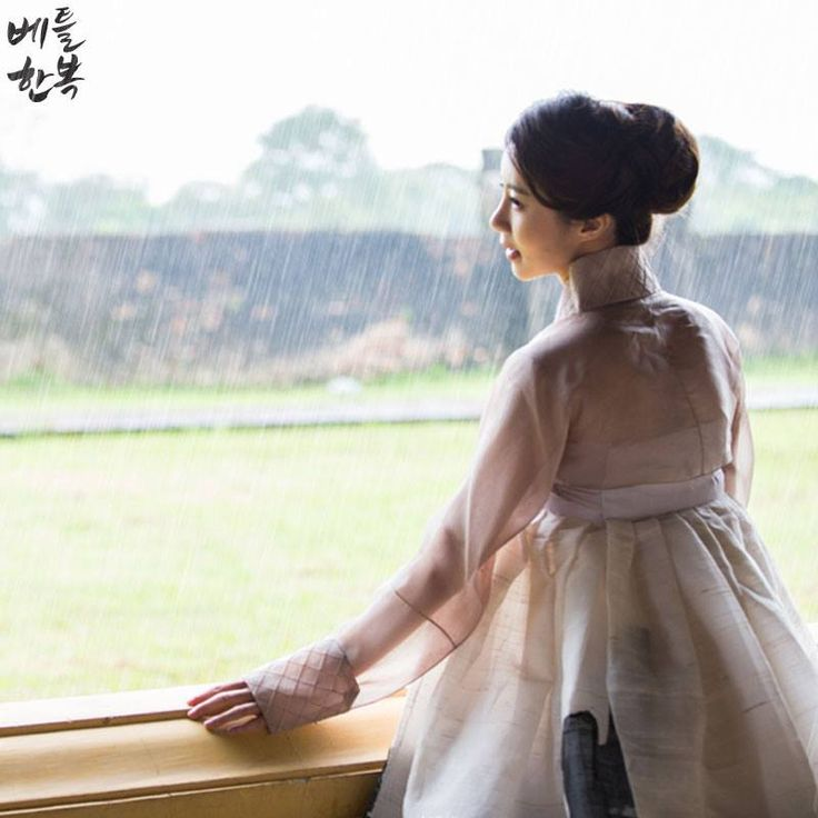 여름을 알리는 장마의 시작:) #rain #비 #rainy spell in summer #hanbok #shower #weather #summer #여름