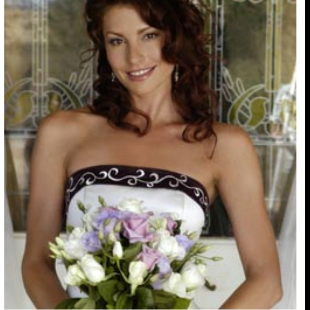 Stevie - mcleods daughters. Wedding dress