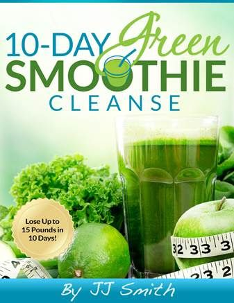 10 day green smoothie cleanse. I saw this on the Steve Harvey show today. I will be trying this !