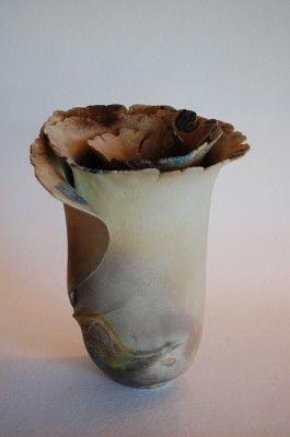 Spiral (saggar fired clay) ()
