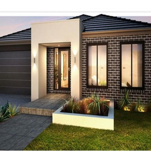 modern single storey house plans