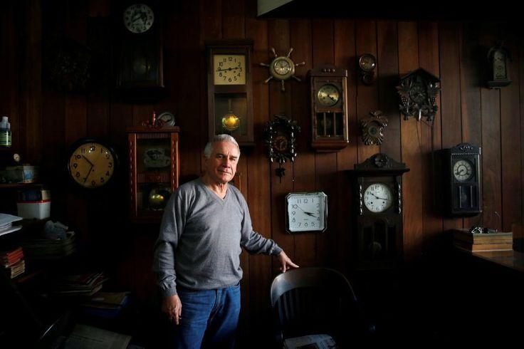 Portuguese Fernando Olivera, 68: Der Uhrmacher glaubt, dass die Spiele gut...