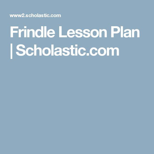 Frindle Lesson Plan | Scholastic.com