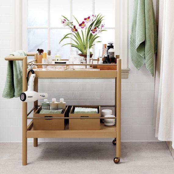 Best 25 Bathroom Cart Ideas On Pinterest  Bathroom Table Unique Small Bathroom Cart Design Ideas
