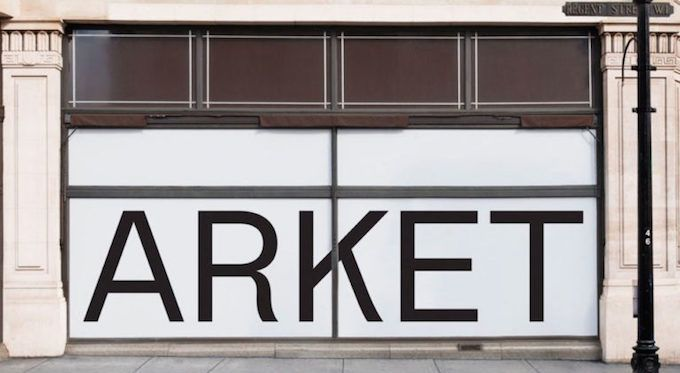 Arket, new brand from H&M #arket #fashion #lifestyle #retail