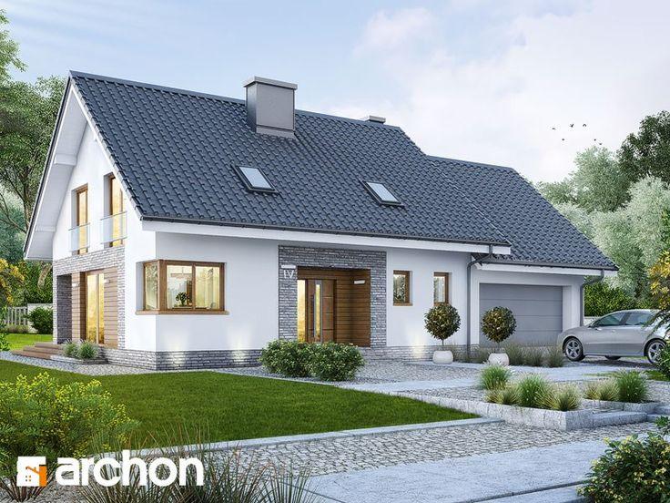 Dom w srebrzykach (G2) - zdjęcie od ARCHON+ Biuro Projektów - Domy - Styl Nowoczesny - ARCHON+ Biuro Projektów