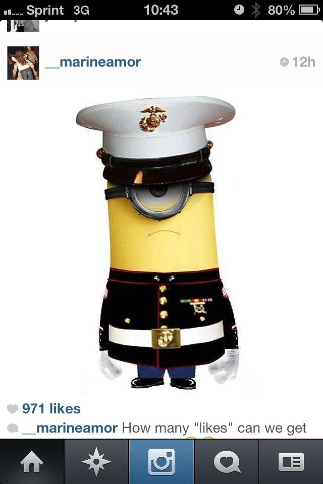 Marine Corps Minion