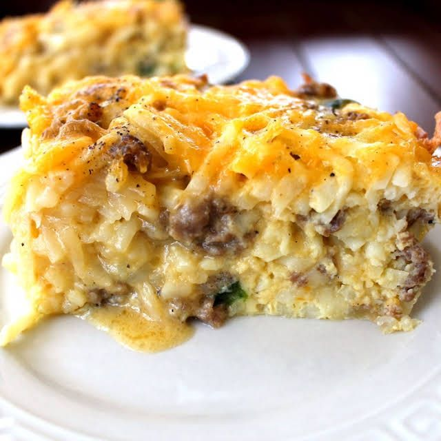 Overnight Cheesy Hashbrown Egg Casserole Recipe Yummly Recipe Hash Brown Egg Casserole Hashbrown Casserole Recipe Breakfast Recipes