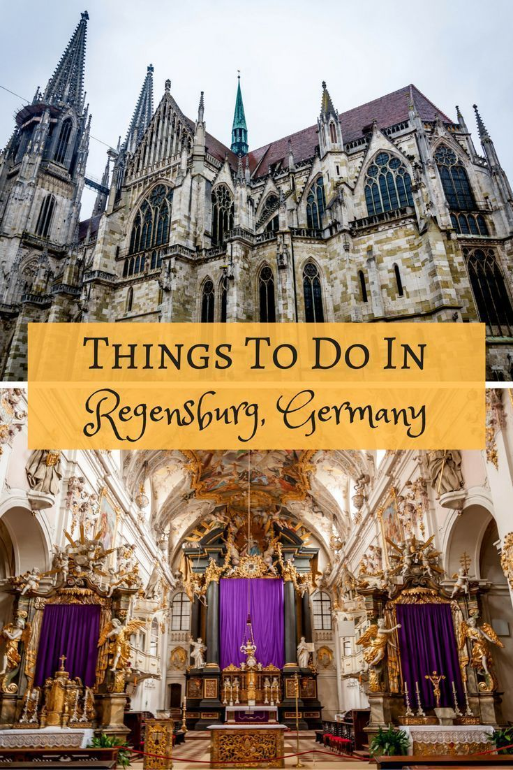 From visiting cathedrals to touring the city, there are lots of great things to do in Regensburg, Germany.