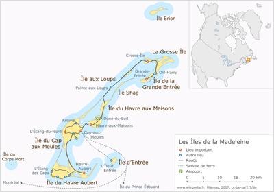 Magdalen Islands - Wikipedia, the free encyclopedia