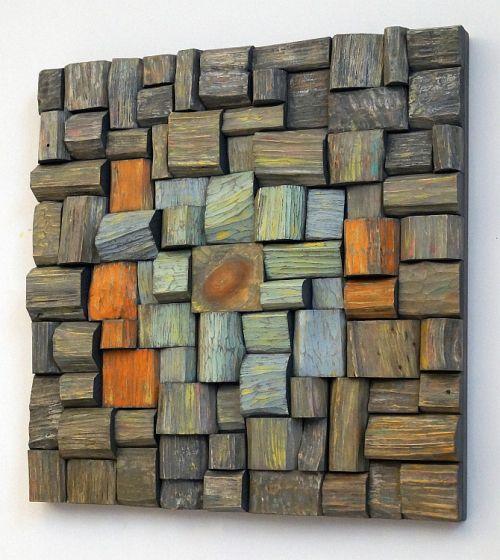 wooden art, recycled wood art, urban art, loft art, cottage art, eco art, contemporary wall art