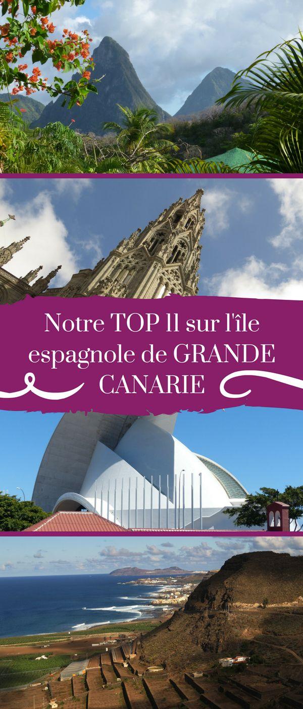 Que voir sur l'île de Grande Canarie ? Pourquoi s'y rendre ? Nous vous donnons 11 raisons à cela ! #GrandeCanarie #Canarie #Espagne #Voyage