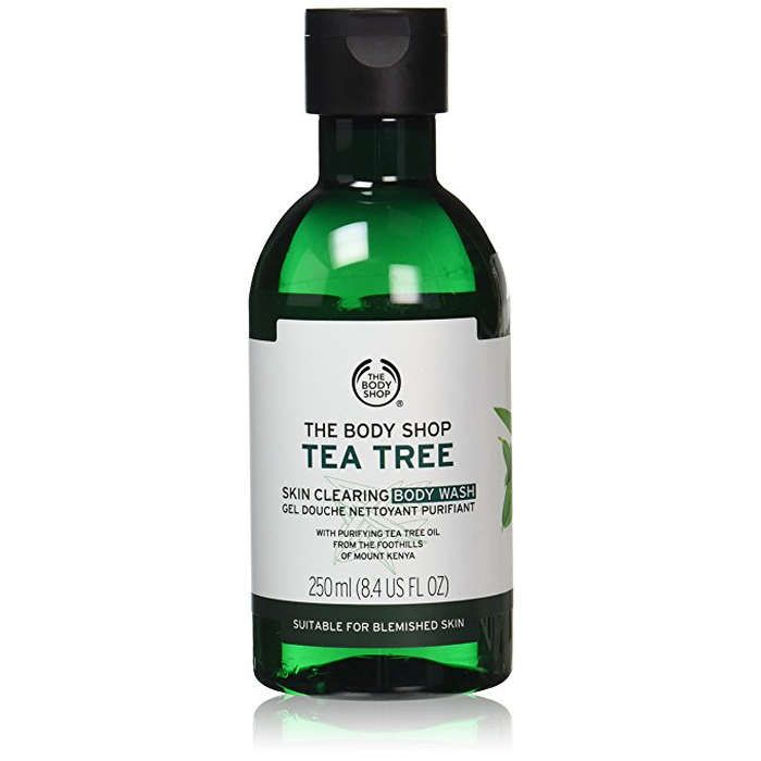 Rank & Style - The Body Shop Tea Tree Body Wash with Tea Tree Oil #rankandstyle