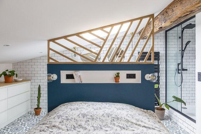 Amenagement Ouvert Comment Delimiter Les Espaces Sans Les Cloisonner Appartement Bordeaux Separation Chambre Chambre Parentale Salle De Bain