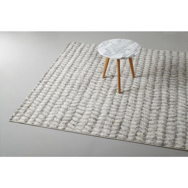 Vloerkleed  (160x230 cm), Crême/grijs