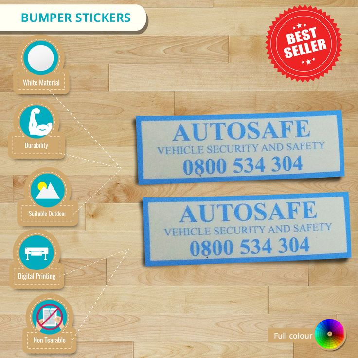 Looking for durable #outdoor #stickers? Opt for #BumperStickers now! These stickers will long last up to 3-5 years. Isn't a great choice?