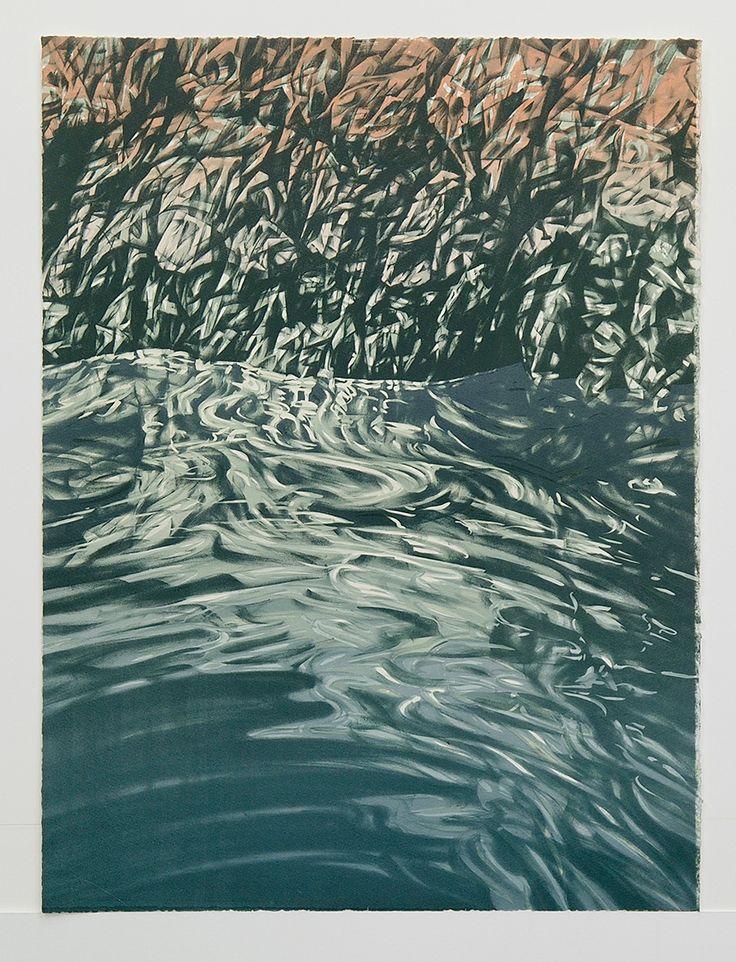 Annika Romeyn - Tuross Falls (lithograph)