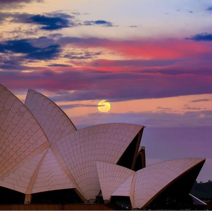 Super Moon - Opera House