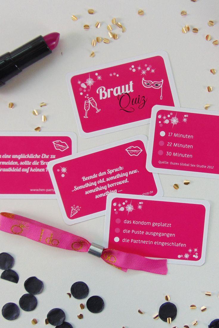 Braut Quiz Spiel Karten Wunsche Zur Hochzeit Braut Junggesellinnenabschied