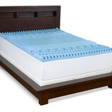 Serenia Sleep 3 Inch Gel Memory Foam 7 Zone Convoluted Topper Twin List