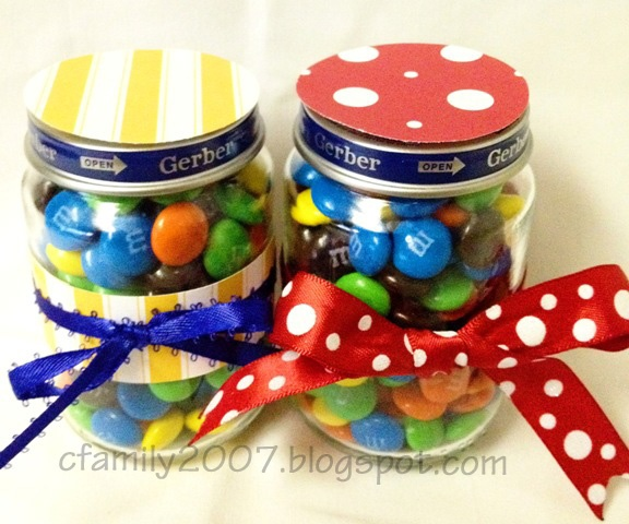 56 best DIy Baby Food Jar Party Favors images on Pinterest Baby