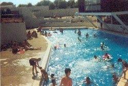 I learnt to swim here!