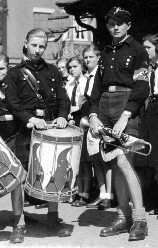 Juventudes hitlerianas.