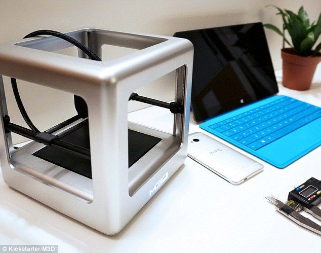 The 3D printer that costs less than an iPhone: £150 device prints food, jewellery and toys at the touch of a button