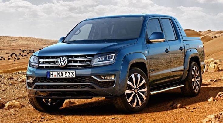Volkswagen Amarok 2016, así es el lavado de cara