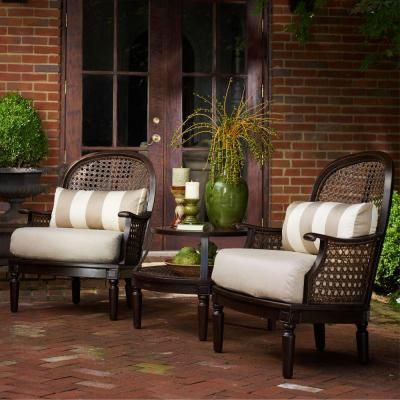 Thomasville Southpointe 3 Piece Deep Seating Patio Set Patio Pinterest The O 39 Jays Dining