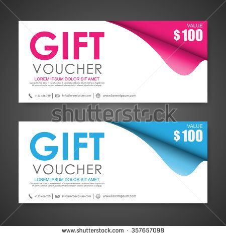 19 best Voucher images on Pinterest Gift cards, Gift voucher - print your own voucher