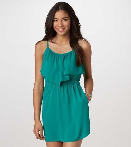 AE Ruffled Chiffon Dress