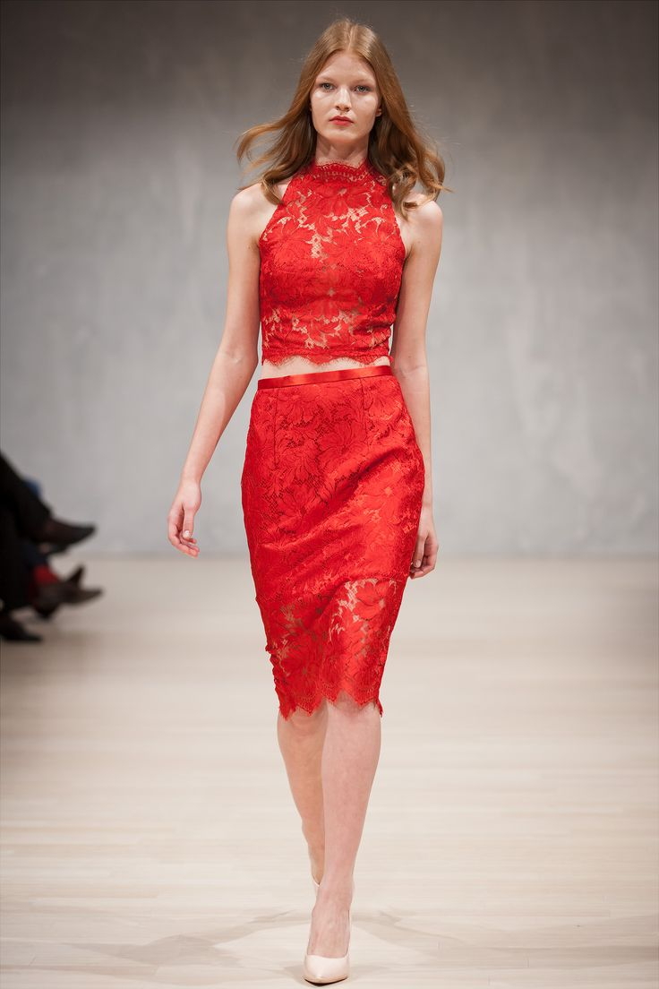 Nora Sarman / Celine top and Celine skirt