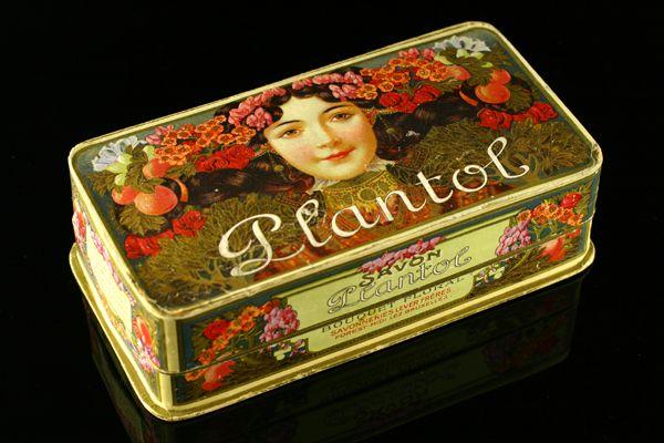 'Savon Plantol' Levers Frères | Art Francais – Art Nouveau Art Deco glas & parfum