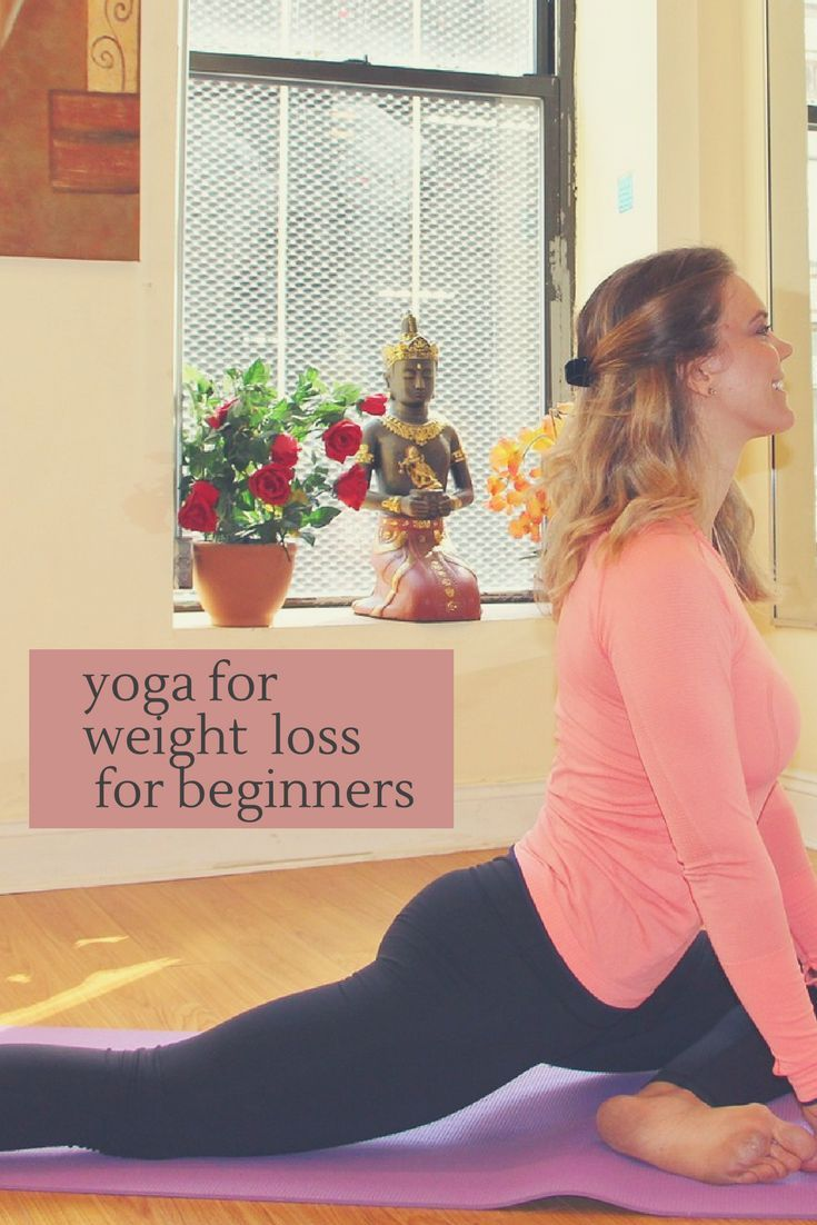 yoga for weight loss for beginners - feel the burn #yoga #affiliate
