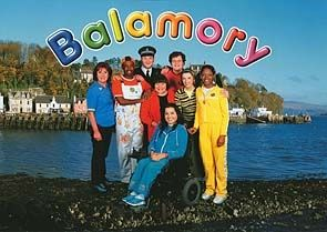 """""""What's the story in Balamory, wouldn't you like to know..."""" Watching this in the morning, ahh"""