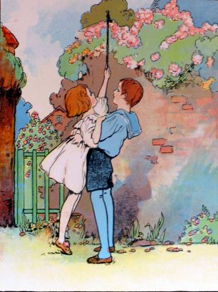 Charles Robinson <3  he lifted her up to ring the bell.