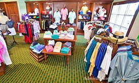 Admiral's Cove Golf Pro Shop - Commercial Interior Design done by The Decorators Unlimited, the top interior design firm in Florida.